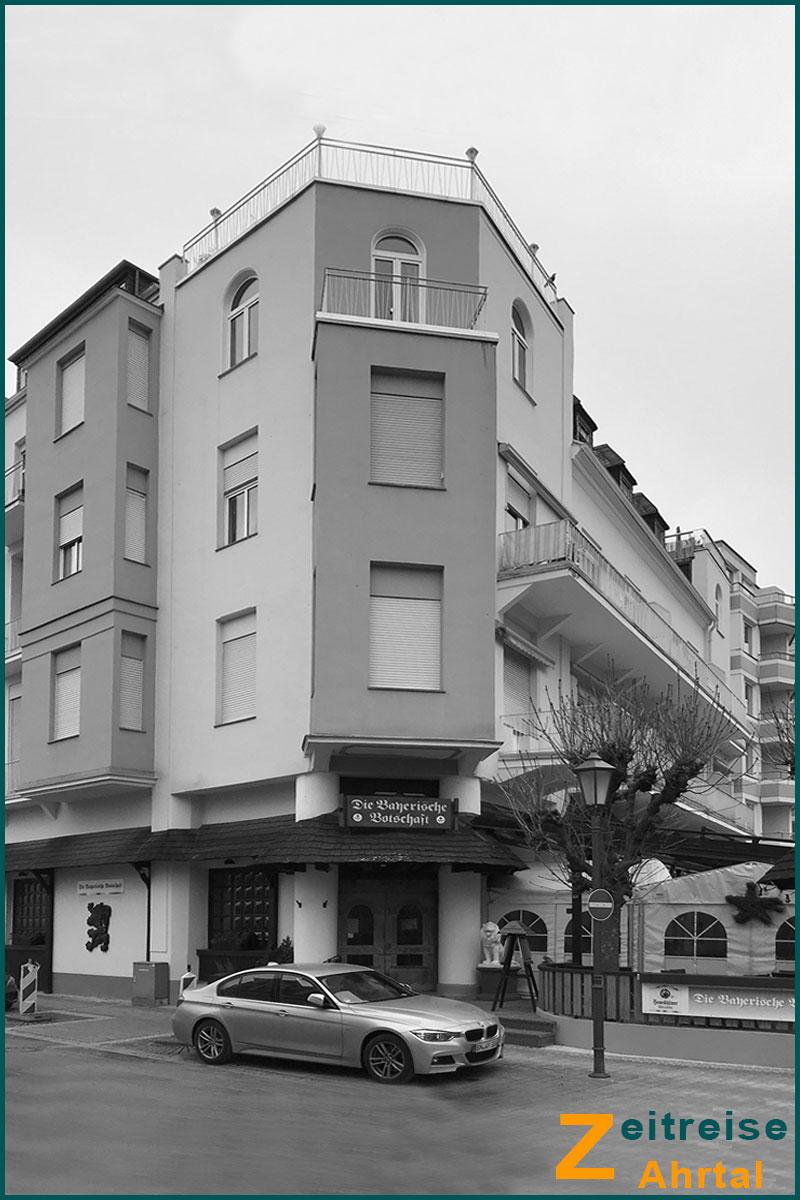 Zeitreise Ahrtal Bad Neuenahr Lindenstrasse 6 heute