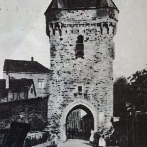 Zeitreise durchs Ahrtal Ahrweiler Obertor westliches Stadttor