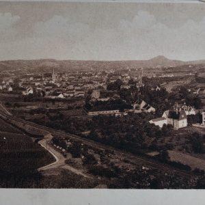 Zeitreise durchs Ahrtal Ahrweiler Gesamtansicht aus Westen