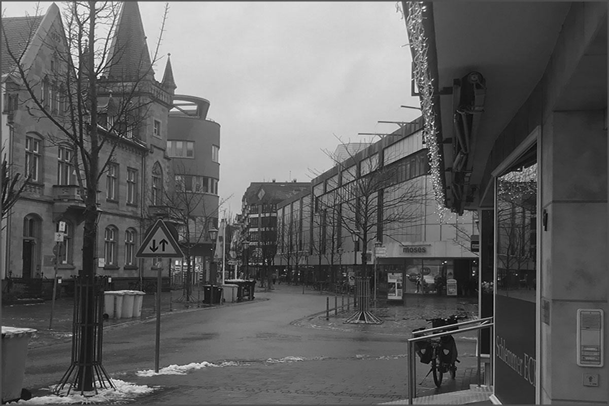 Zeitreise durchs Ahrtal Bad Neuenahr Hauptstrasse Ecke Jesuitenstrasse Kaiserhof Bonns Kronenhotel 2019