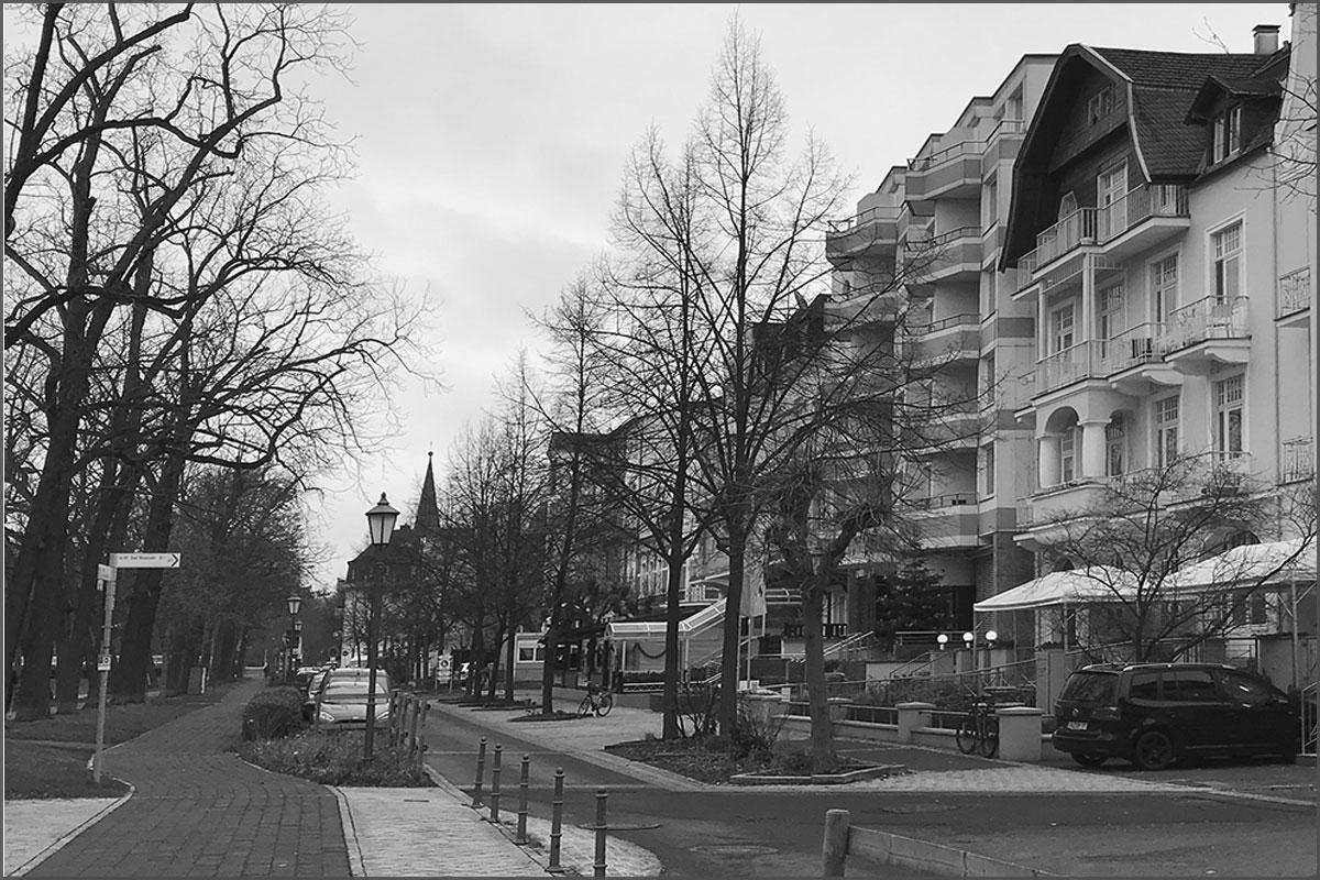 Zeitreise durchs Ahrtal Bad Neuenahr Lindenstrasse Ecke Casinostrasse am 10. Januar 2019