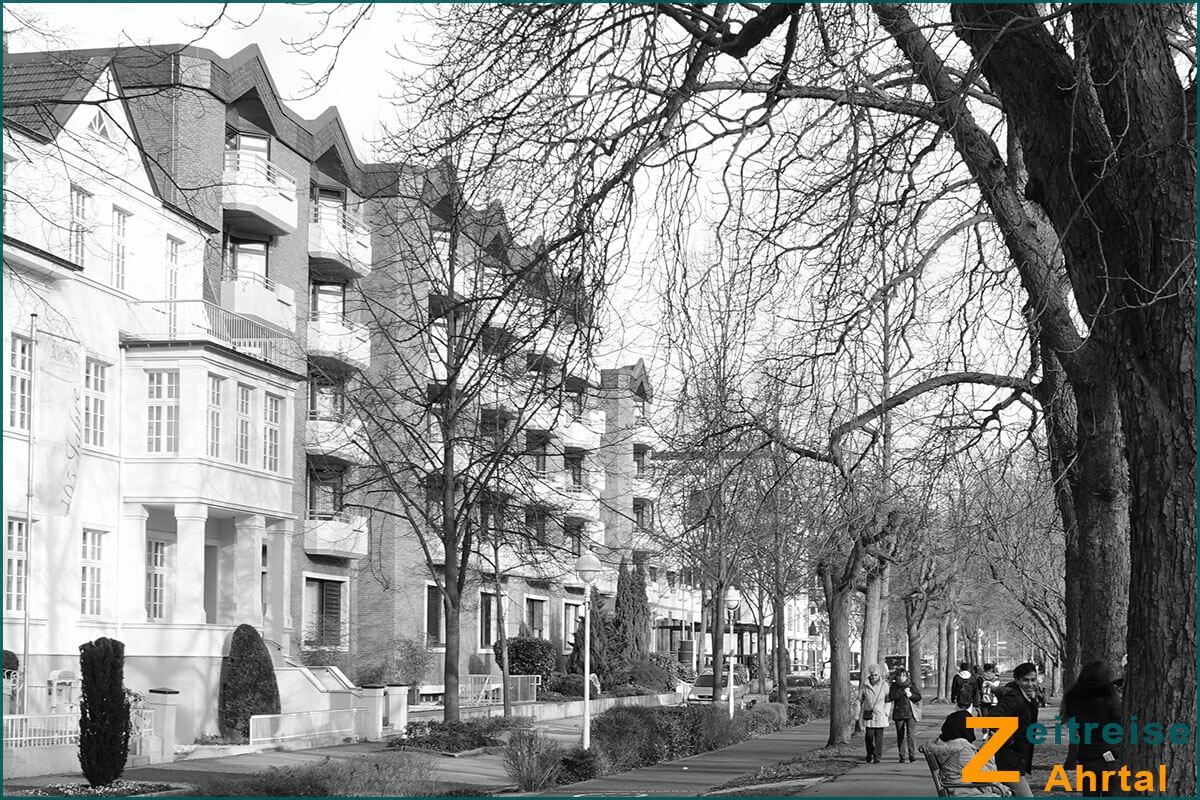 Zeitreise Ahrtal | Bad Neuenahr Georg Kreuzbergstrasse Knappschaft Hotel Hohenzollern aktuell 2019