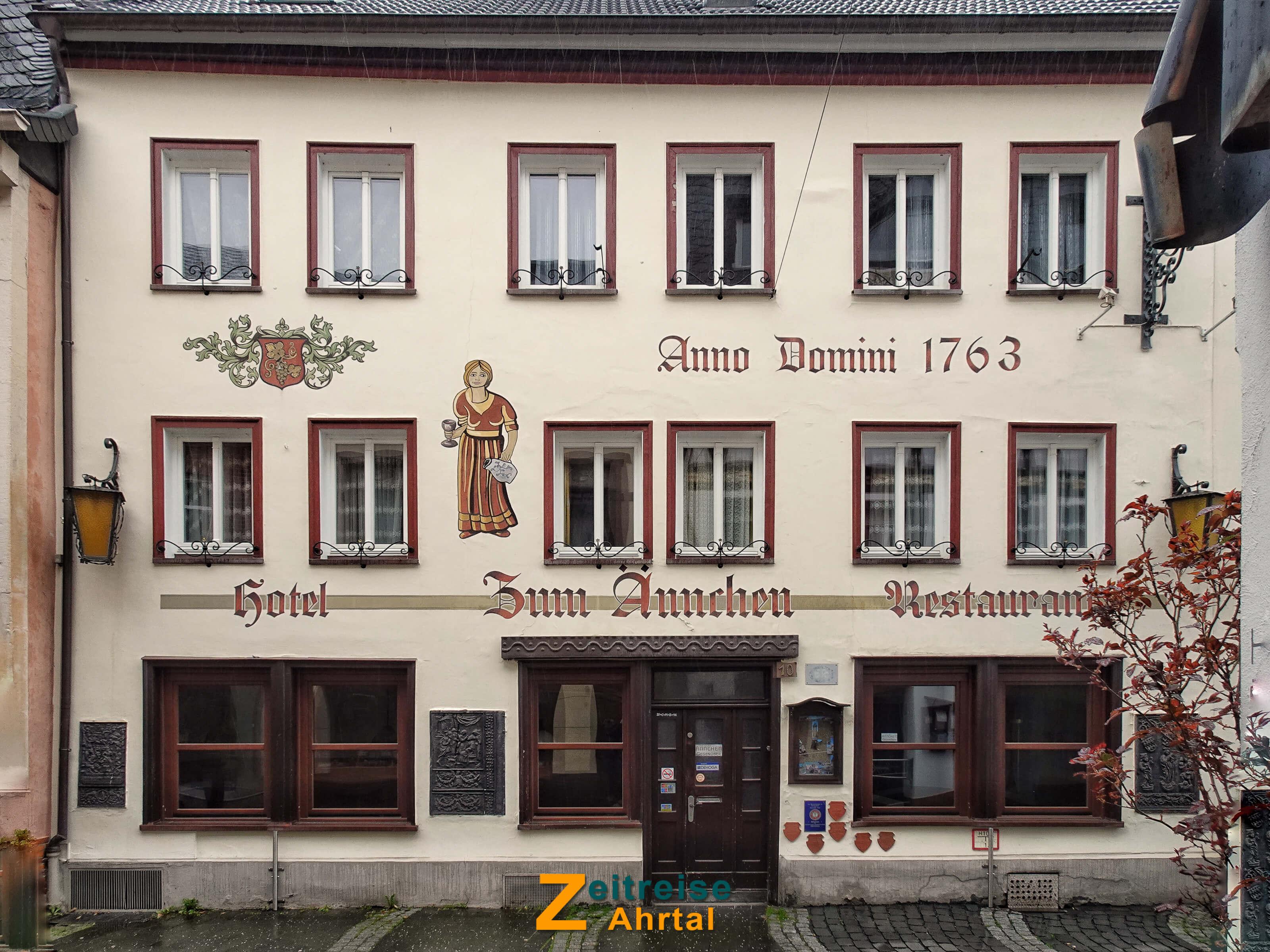 Ahrweiler Niederhutstrasse Restaurant Aennchen @ Michael Lentz 2019_03_15 04