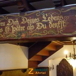 Ahrweiler Niederhutstrasse Restaurant Aennchen Innen @ Michael Lentz 2019_03_15 17